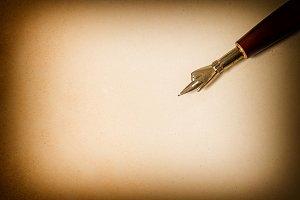 Paper texture  ink pen