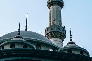 Green Mosque In Old Dubai