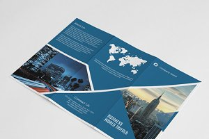 Multipurpose Trifold Brochure-V84