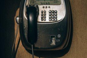 Retro Payphone in Dubai