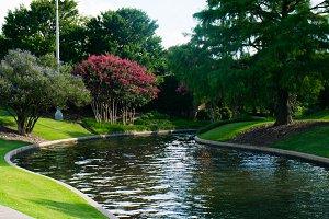 River in Garden