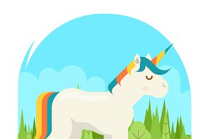 Unicorn Fantasy Horse