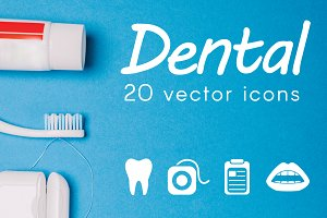 DENTAL - vector icons