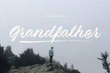 Grandfather - Brush Script