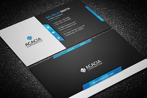 Dim Business Card
