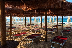 Beach Maldives of Salento, Italy