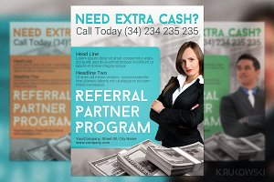 Referral Partner Program Flyer