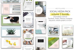 Volume 1 Bundle for Social Media