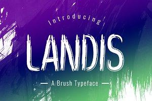 Landis Typeface