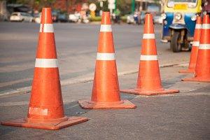 Traffic cone.
