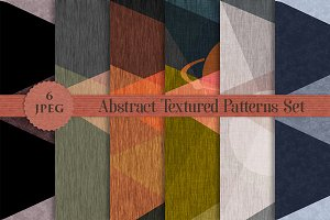 TEXTURED abstract patterns set