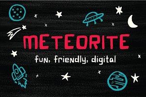 Meteorite Font