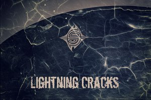 10 Textures - Lightning Cracks