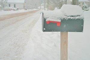 Snowy Mailbox