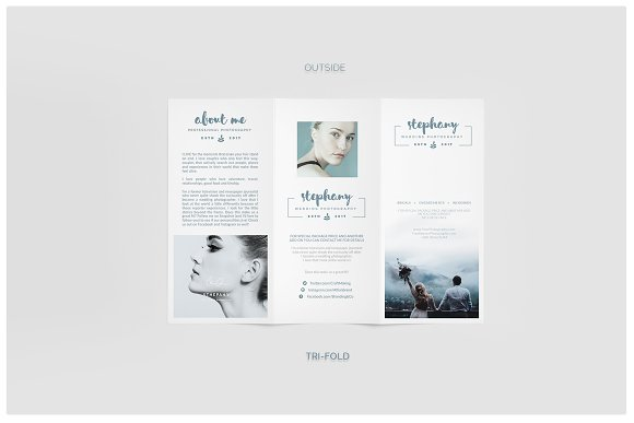 Professional Trifold Brochure Templates To Help You Stand Out - Trifold brochure template