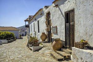 Street in Betancuria, Fuerteventura,