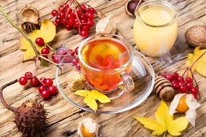 warming autumn tea
