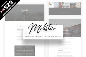 Malistica - Personal Wordpress Theme