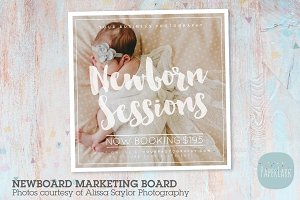 IN012 Newborn Marketing Board