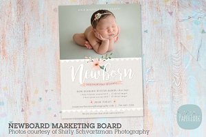IN013 Newborn Marketing Board
