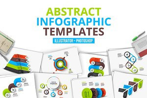 Abstract infographic templates