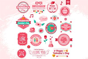 Valentine Labels