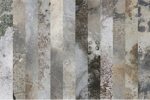 12 Old Concrete Texture