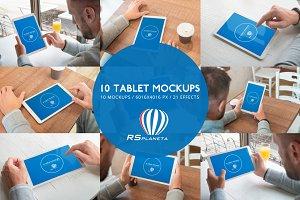 10 Tablet Mockups