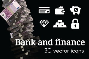 BANK - vector icons