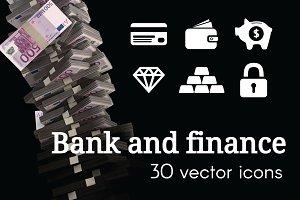 BANK - vector icons