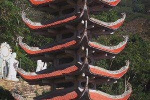Temple Nirvana Buddha Vietnam Ta Cu