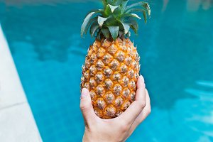 pineApple near pool