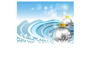 Christmas decorations ideas vector