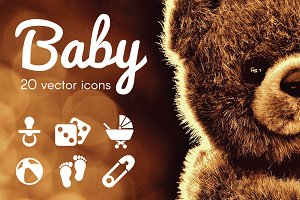 BABY - vector icons