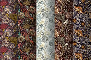 5 Paisley Patterns