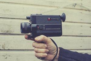 Vintage filming