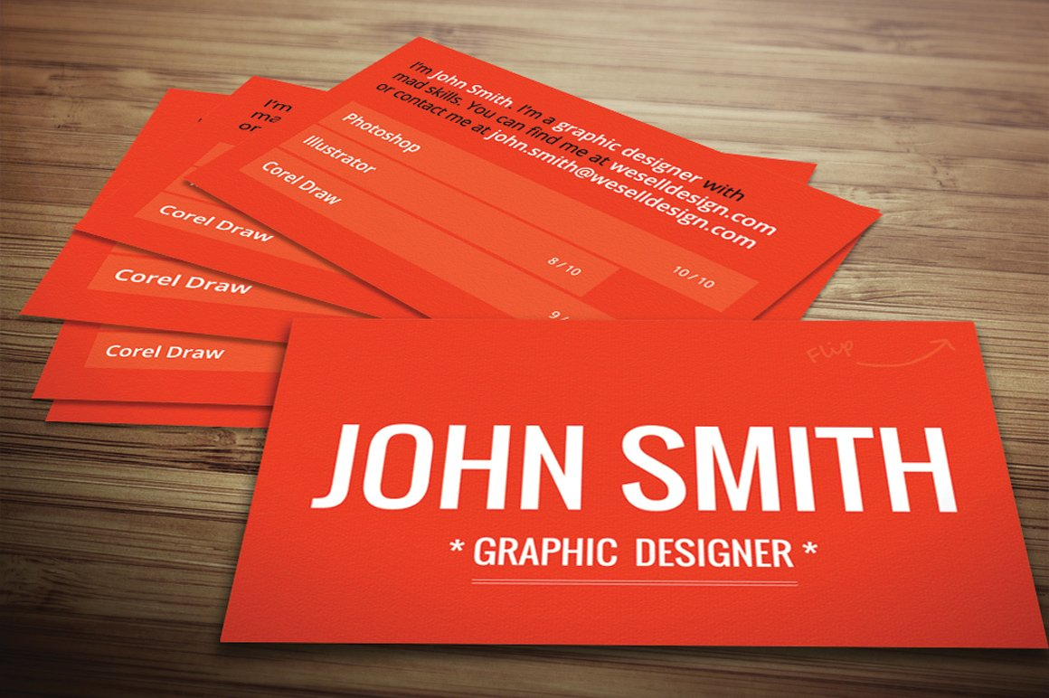 Red Textured Business Card ~ Business Card Templates ~ Creative Market