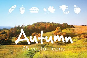 AUTUMN - vector icons