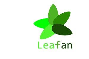 Leafan Logo Template