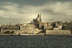 Malta. La Valetta, views Mediterrane