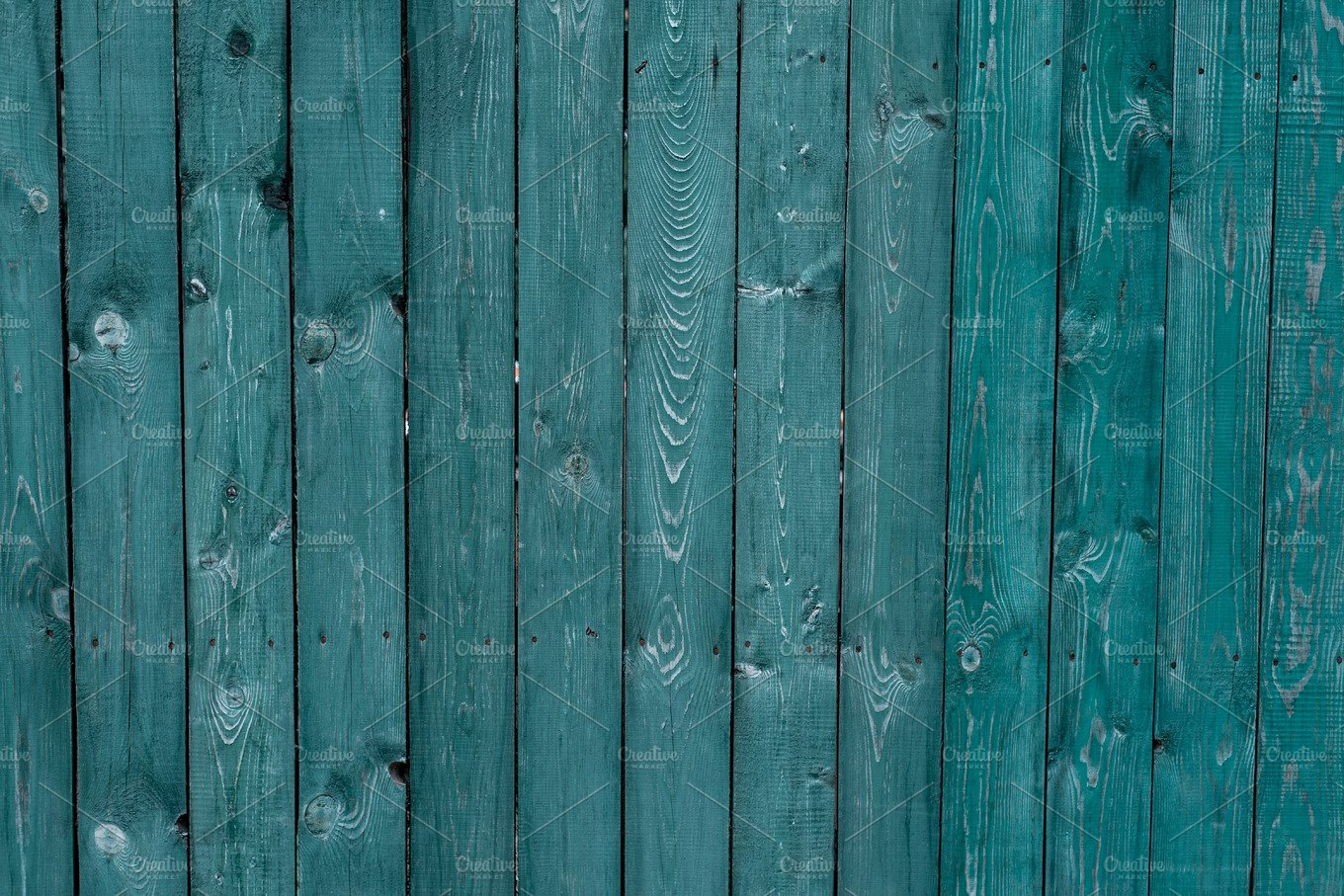 Dark Green Old Wooden Boards Backgrounds And Textures Fence Painted