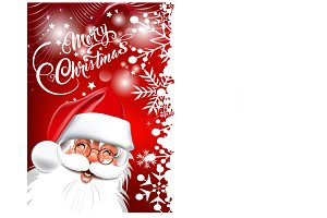Santa Claus, Christmas card