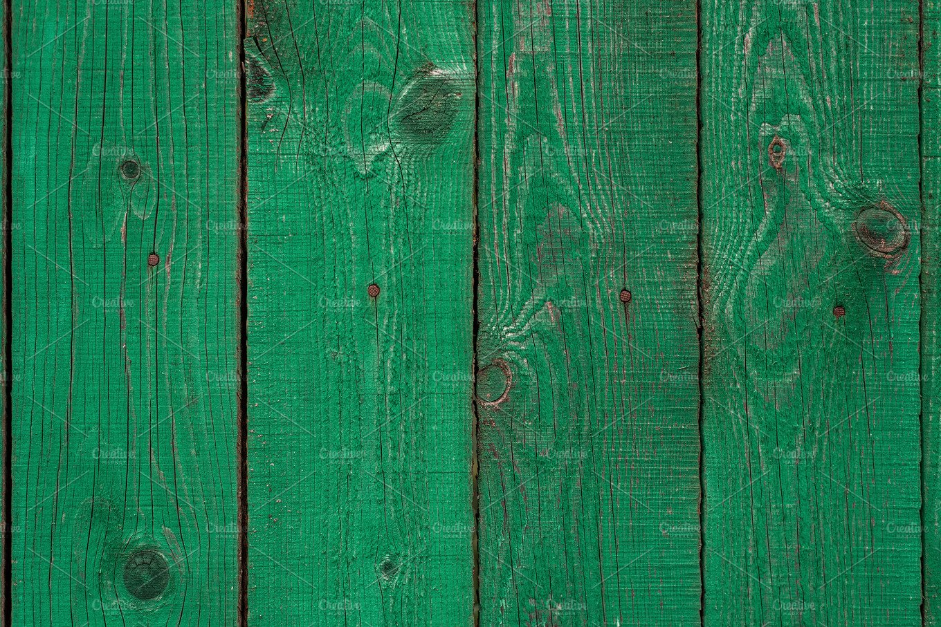 Dark Lime Vintage Wooden Boards Backgrounds And Textures Fence Painted