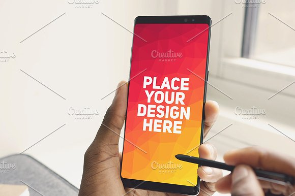 Samsung Note 8 Mock-up #5