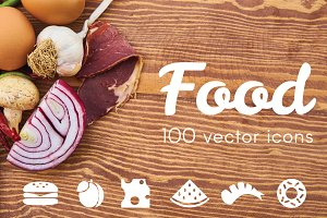 FOOD - vector icons