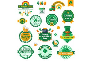 St. Patricks Day Labels