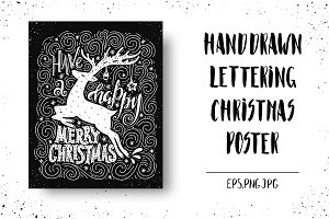 Handdrawn Christmas Card