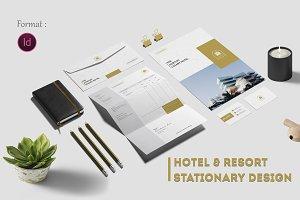 Hotel & Resort Stationary Design