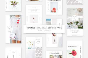 Minimal Instagram Stories Pack