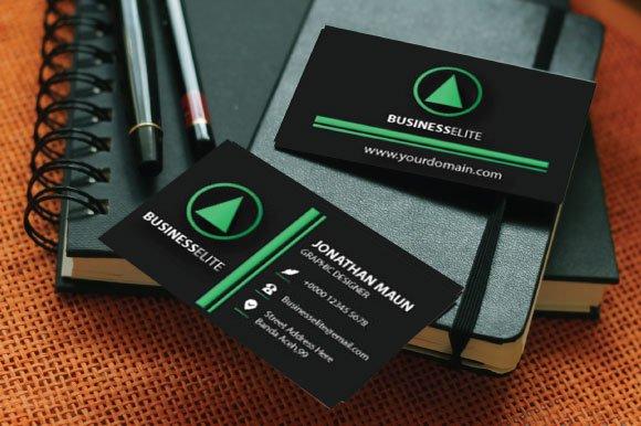 45c71a8fae Business Elite ~ Business Card ~ Business Card Templates ~ Creative Market